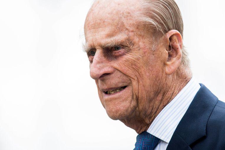 De 99-jarige Prins Philip.  Beeld EPA