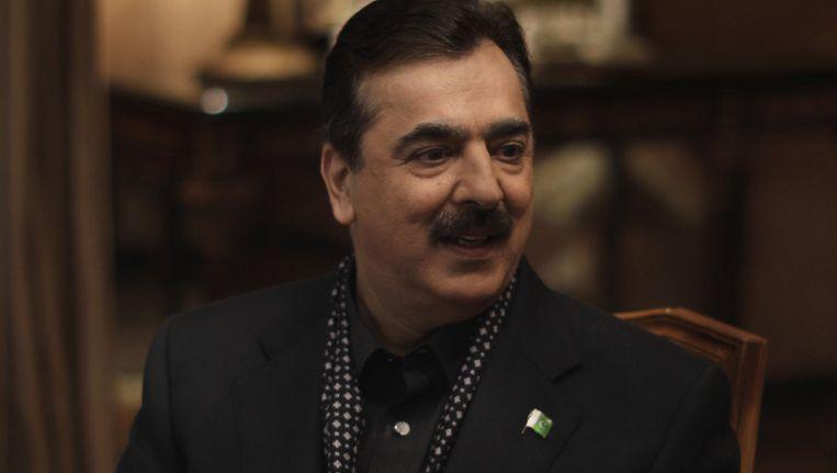 Pakistaans premier Yousuf Raza Gilani. Beeld ap