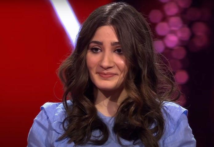 Hanin maakte afgelopen seizoen indruk bij The voice of Holland.