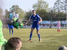 'Stippie', voetballer van de buitencategorie bij Duno