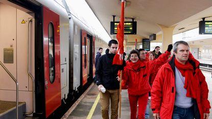"""""""Onthutsend dat NMBS goedkope treintickets geeft aan betogers"""""""