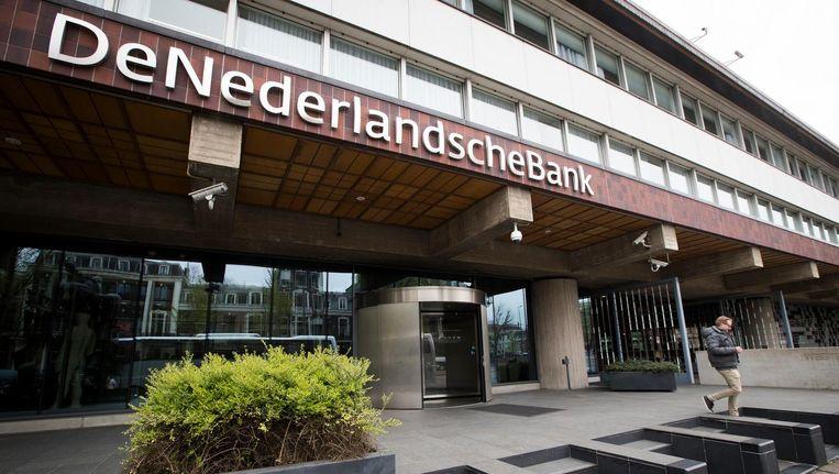 Exterieur van De Nederlandsche Bank in Amsterdam. Beeld anp