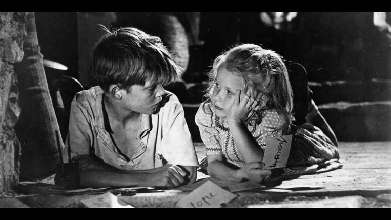 Jeux interdits (1952). Beeld