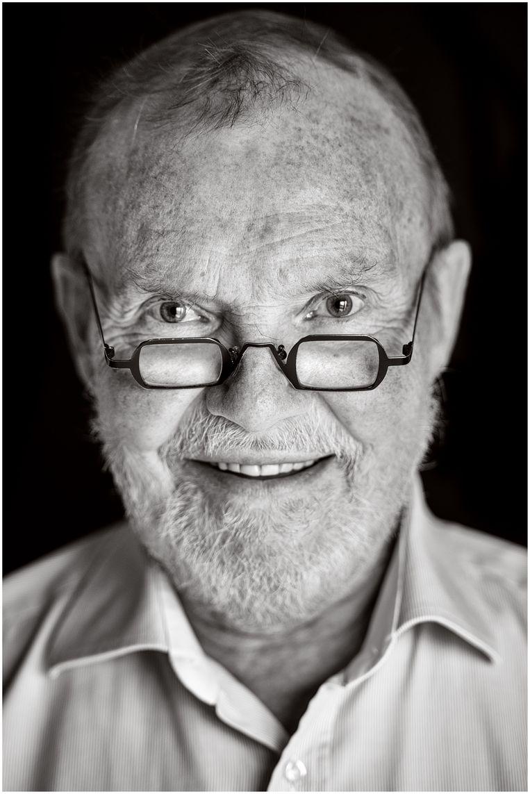 Eric Defoort, Belgische emeritus hoogleraar en politicus. Beeld Michiel Hendryckx