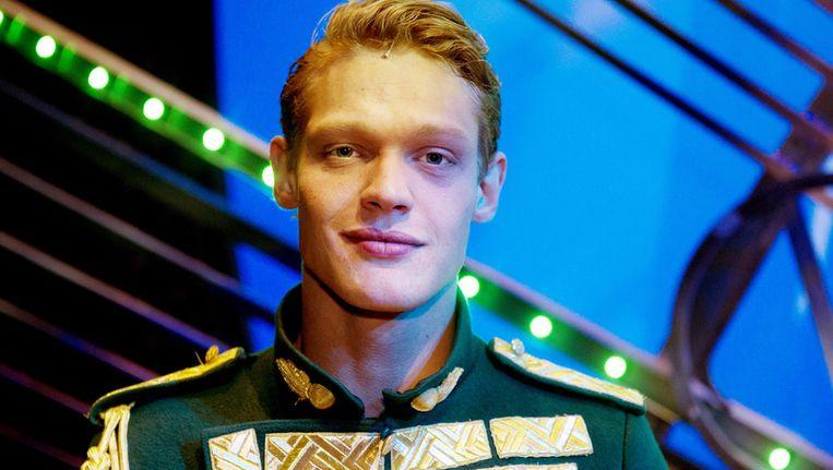 Ferry Doedens maakt als de prins Fiyero zijn debuut in de musical Wicked, in het Circustheater in Scheveningen. Beeld ANP