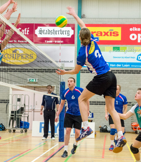 Volleybalclub Flamingo's gered na turbulente periode