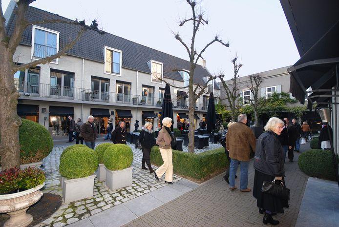 Winkelgebied 't Sas in de binnenstad van Breda.