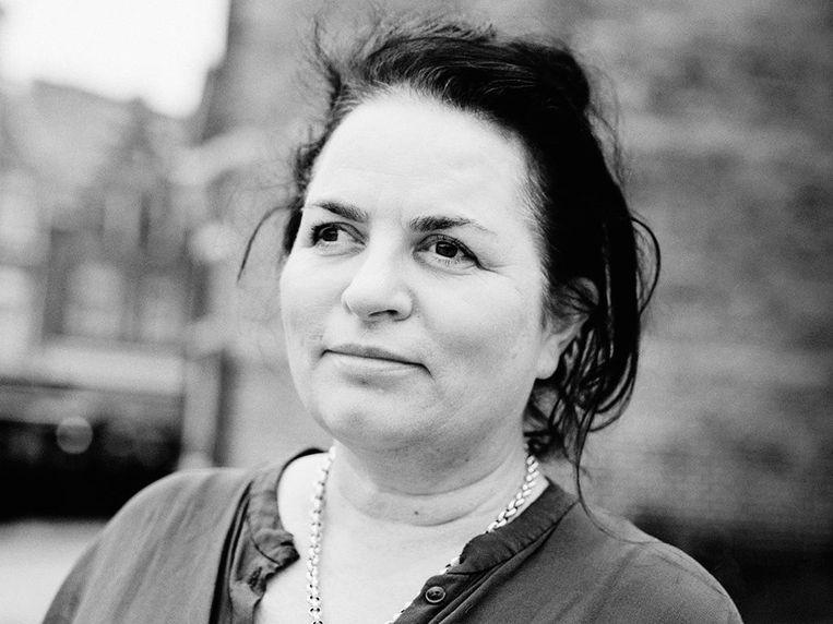Marleen Stikker, directeur van Waag Society, instituut voor kunst, wetenschap en technologie. Beeld -
