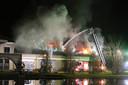 Grote brand bij De La Salle in Boxtel.