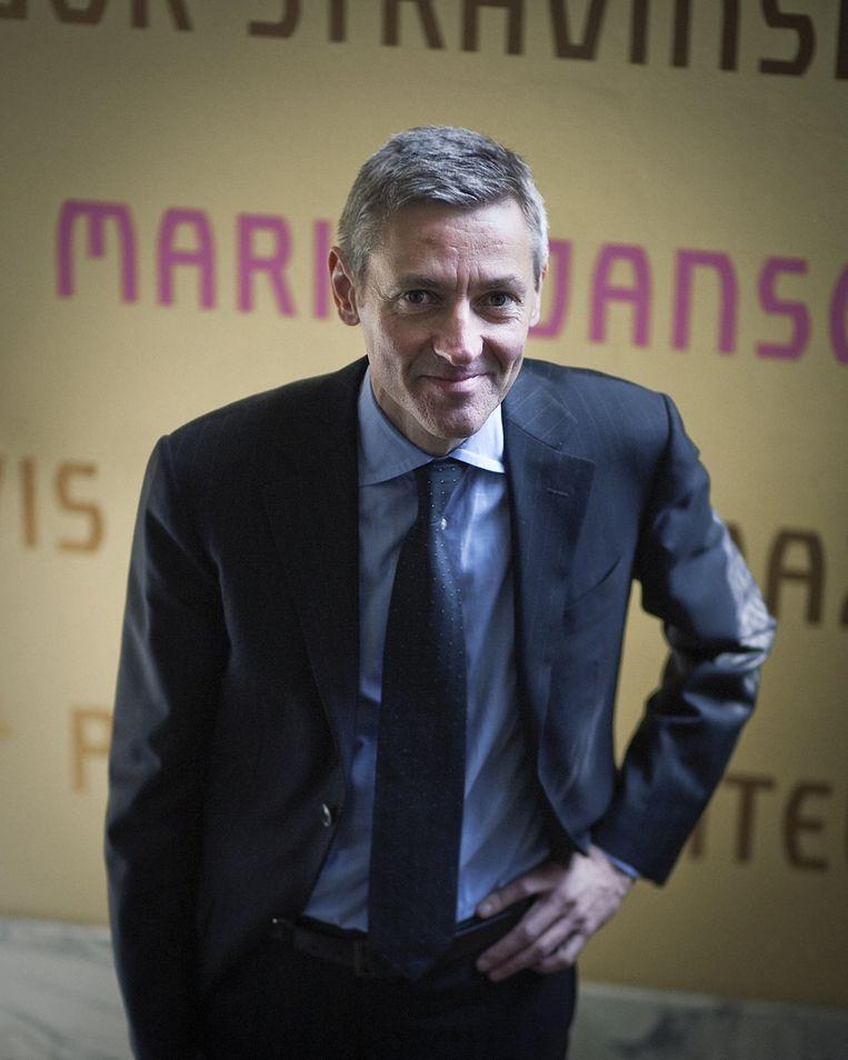 Jan Raes, directeur van het Koninklijk Concertgebouworkest. Beeld Het Parool/Dingena Mol