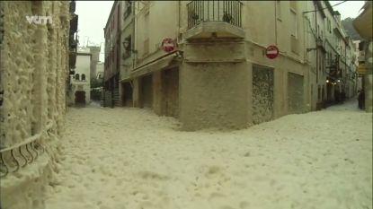 Storm Gloria: negen doden en schuimbad in Spanje