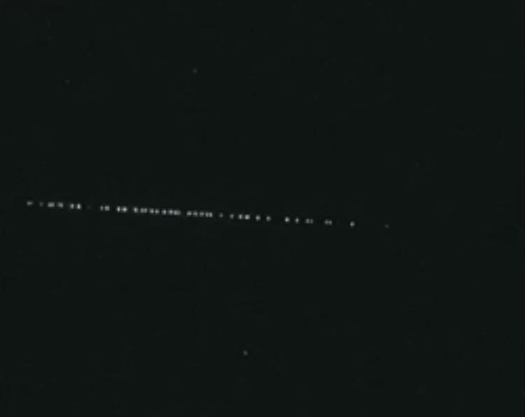 Un étrange phénomène lumineux dans le ciel