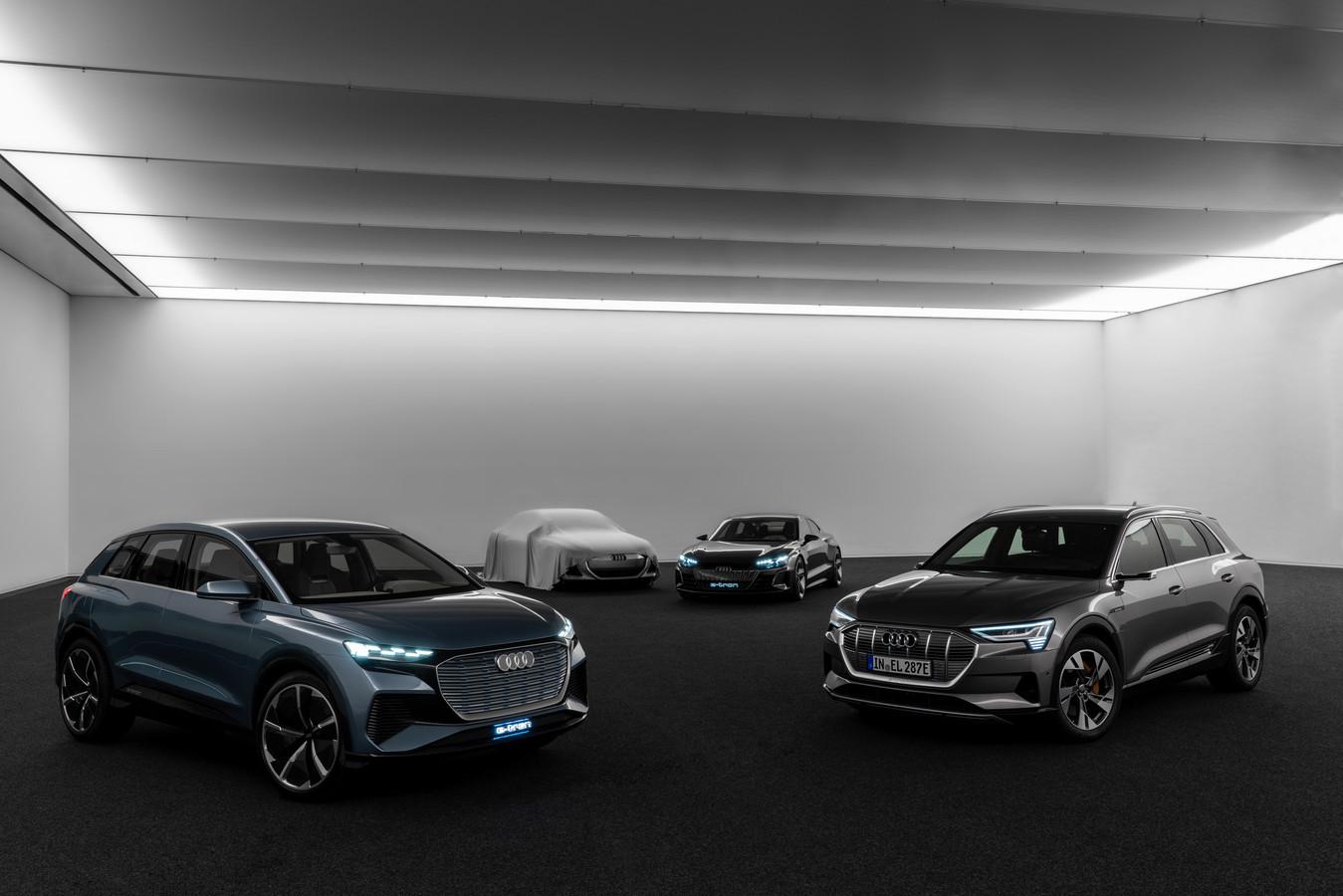 De vierde modelreeks houdt Audi nog even geheim.