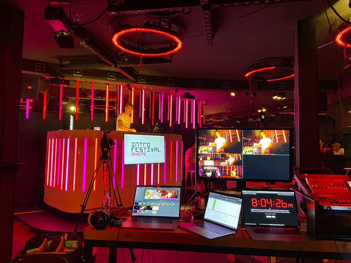 Vorig jaar was er door corona de Home-edition van het Hbo Introfestival in Breda, alleen de dj stond op locatie te draaien.