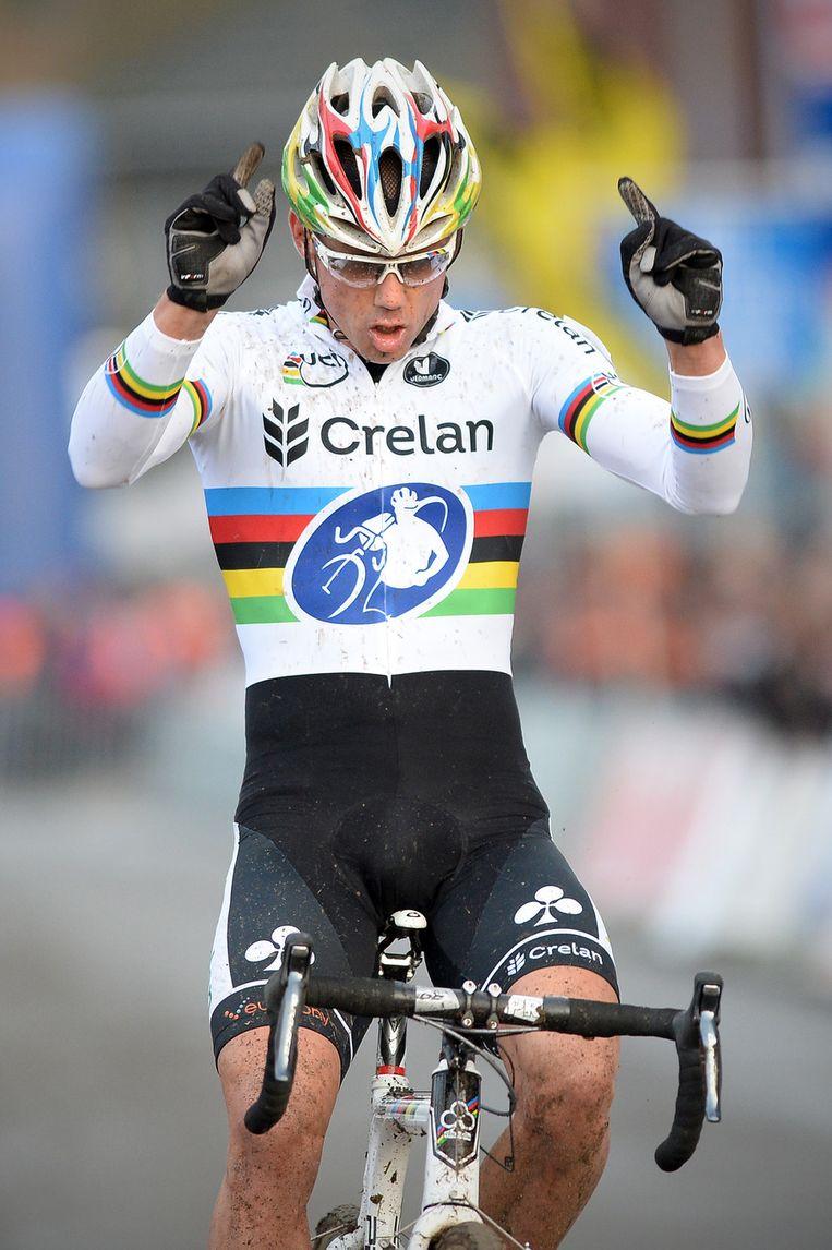 Nys zegevierde al voor de vierde keer op rij in Overijse, de zesde keer in totaal. Beeld BELGA