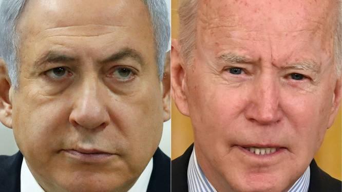 Biden pleit bij Netanyahu voor staakt-het-vuren