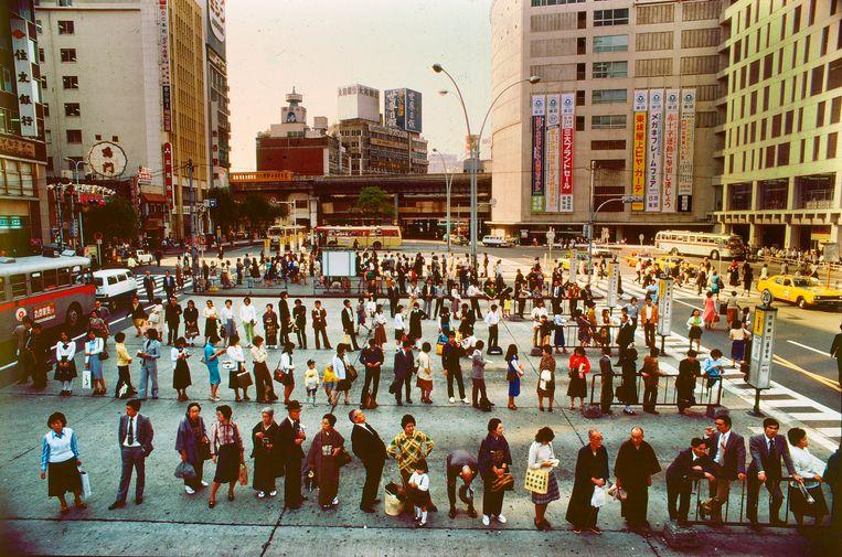 Tokio, 1982. Beeld Eddy Posthuma de Boer