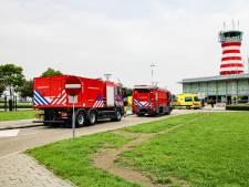 Commotie op Lelystad Airport om vliegtuigje met rook uit cockpit