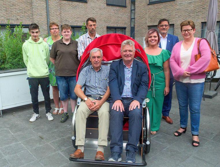 Hugo Maes en Werner Maerevoet maakten al eens een testritje met de vélo-droom.