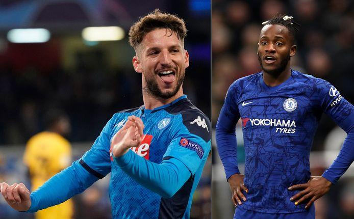 Chelsea aast op Dries Mertens en wil Michy Batshuayi laten gaan.