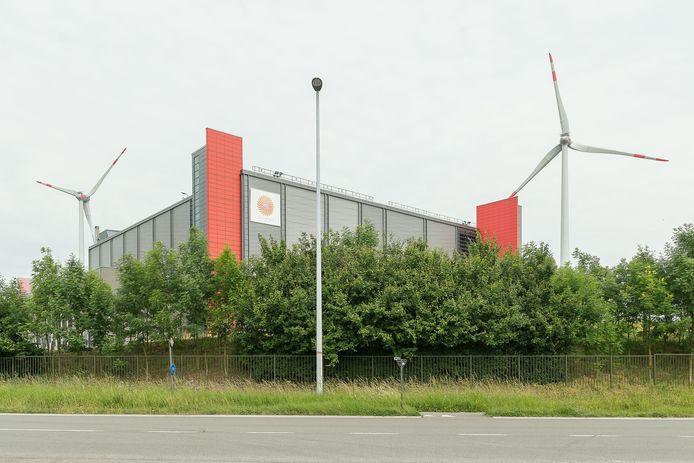 De Stora Enso papierfabriek in Gent.