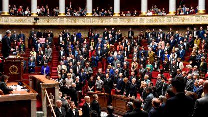 Minuut stilte in parlement
