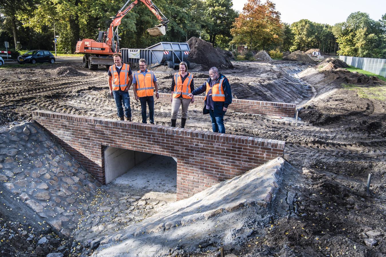 In 2017 begon de aanleg van de Stadsbeek in de Bruggertstraat. Het is een langjarig project.