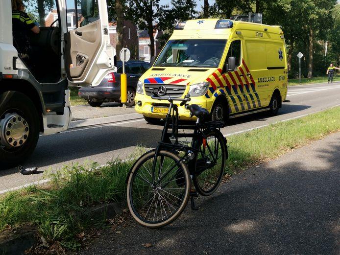 Het ongeval gebeurde op de kruising van de Lunterseweg met de Stakenberg.