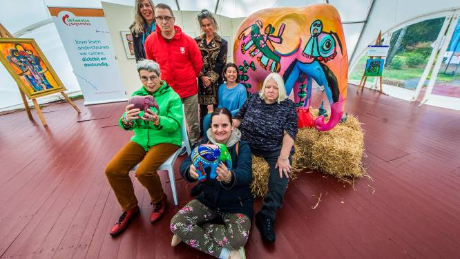 Kunstenaars LosserHof laten olifant Stef schitteren in de Parade: 'Project welkome boost na corona'