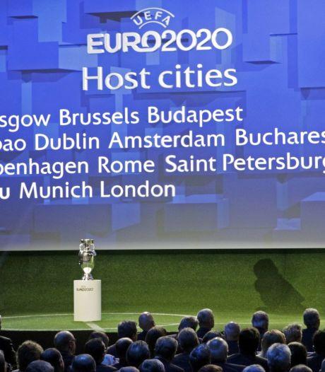 L'Euro 2020 à Bruxelles