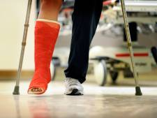 Extreme drukte bij ziekenhuis in Hardenberg door schaatspret: 'Hele bottensliert gehad'