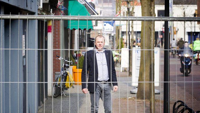 Marcel Evers van brancheorganisatie Inretail: 'Leegstand, verpaupering, lelijke hekken... Bij de gemeenten moet de knop écht om.'