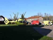 Brandweer haalt kindje uit moerasachtig gebied Sas van Gent