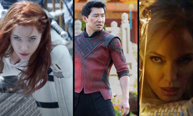 Marvel: Black Widow, Shang Chi, The Eternals Beeld Marvel