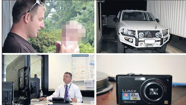 Een doorbraak in het onderzoek kwam toen Shannon M. een foto van zijn auto plaatste. Hij gebruikte daarin een code die hij ook in berichten op de kinderpornosite hanteerde. Beeld