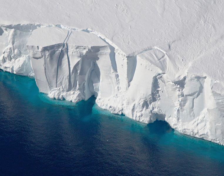 Het Getz ijsplateau op de Zuidpool (foto ter illustratie). Beeld AP