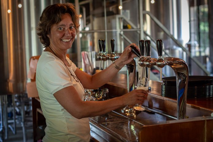 Danielle Duits, eigenaresse bierbrouwerij Duits & Lauret.