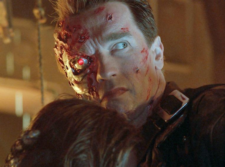 Arnold Schwarzenegger in zijn beste rol ooit Beeld rv