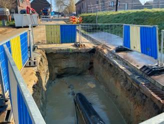 Waterdruk bijna overal weer normaal na zware beschadiging bij bouwwerken nieuwe spoorwegbrug