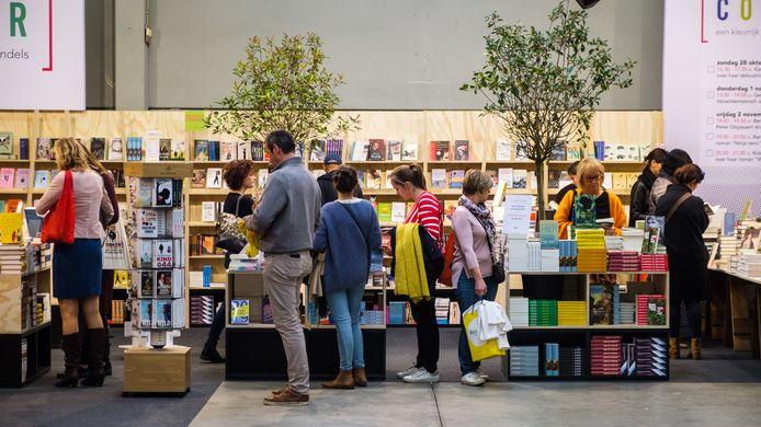 De boekenbeurs start dit jaar op dinsdag 29 oktober (archiefbeeld uit 2018).