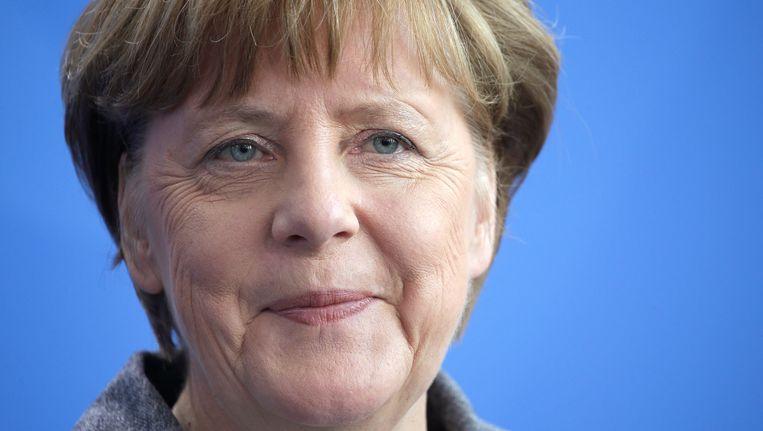 Angela Merkel. Beeld AP