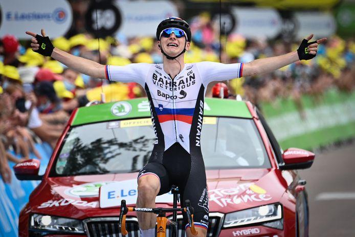 Matej Mohoric won in Libourne