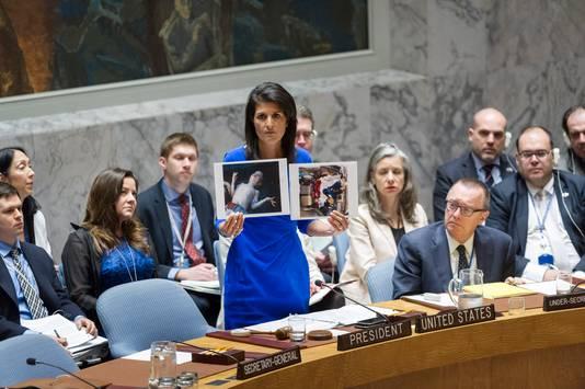 Nikki Haley, représentante des Etats-Unis au Conseil de sécurité de l'ONU