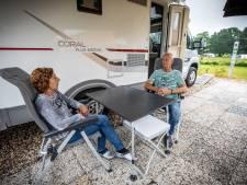 Camperen in Noordoost-Twente: 'Even een praatje met de buren, maar meer ook niet'