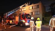 Schade in woning door schouwbrand