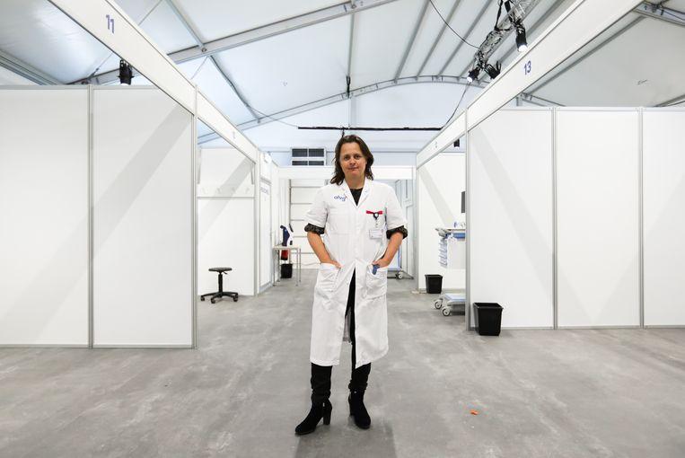 Roos van Nieuwenhuizen, hoofd medisch crisisteam OLVG. Beeld Eva Plevier