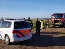 Drugsafval gevonden in Binnenveld bij Bennekom
