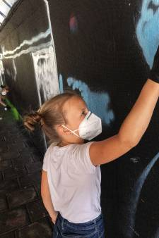 Iedere wijk zijn eigen kunstwerk tijdens Kidsbattle Berenkuil