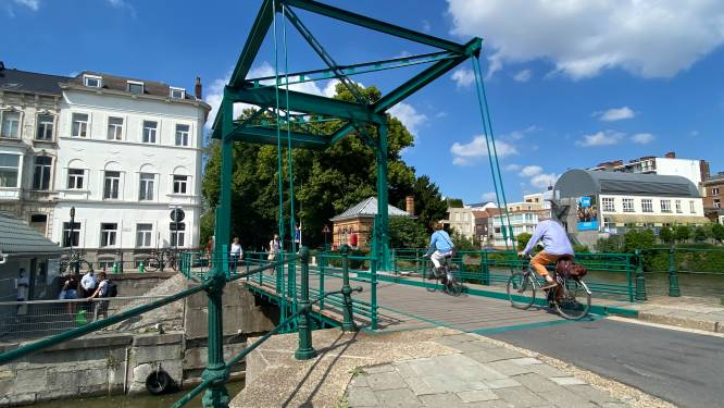 Groen brugje tussen Coupures weer open