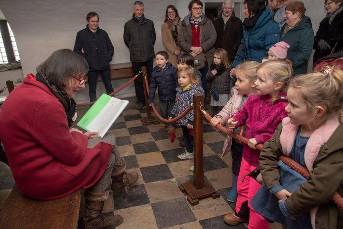 Poëziedag in Kasteel van Laarne.